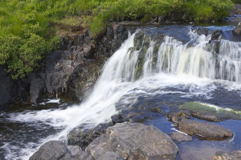 Schottland Wasserfälle Eas Fors