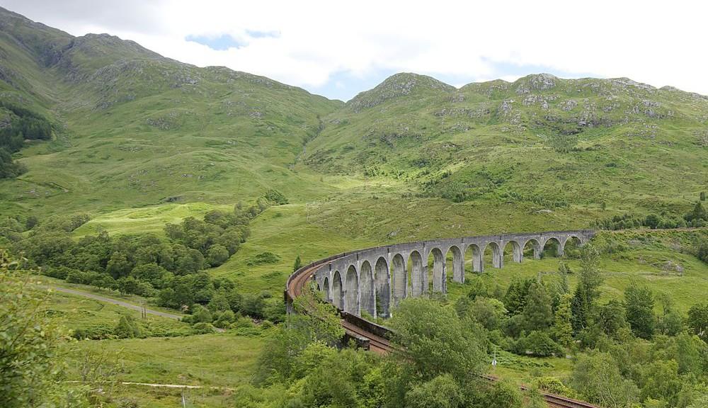 Schottland Glenfinnan Viadukt