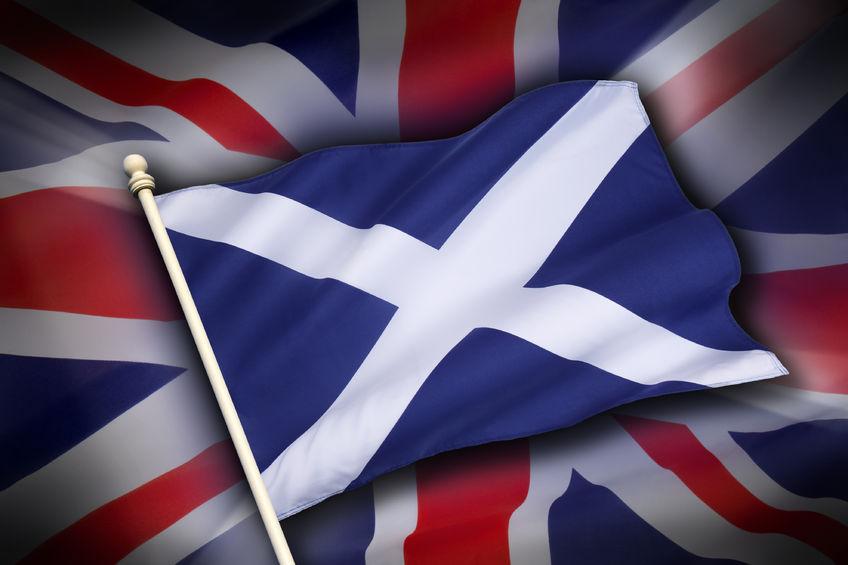 Flagge-Schottland-Grossbritannien