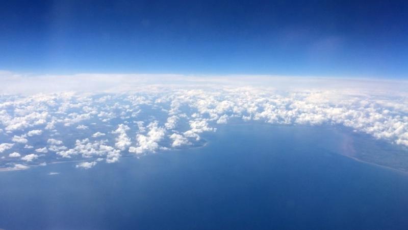 Schottland - Flug - Küste