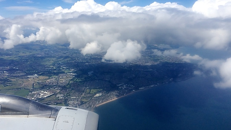 Flug Schottland