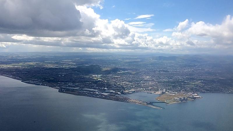 Schottland Flug Edinburgh