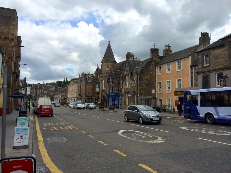 Schottland Kirkgate Straße