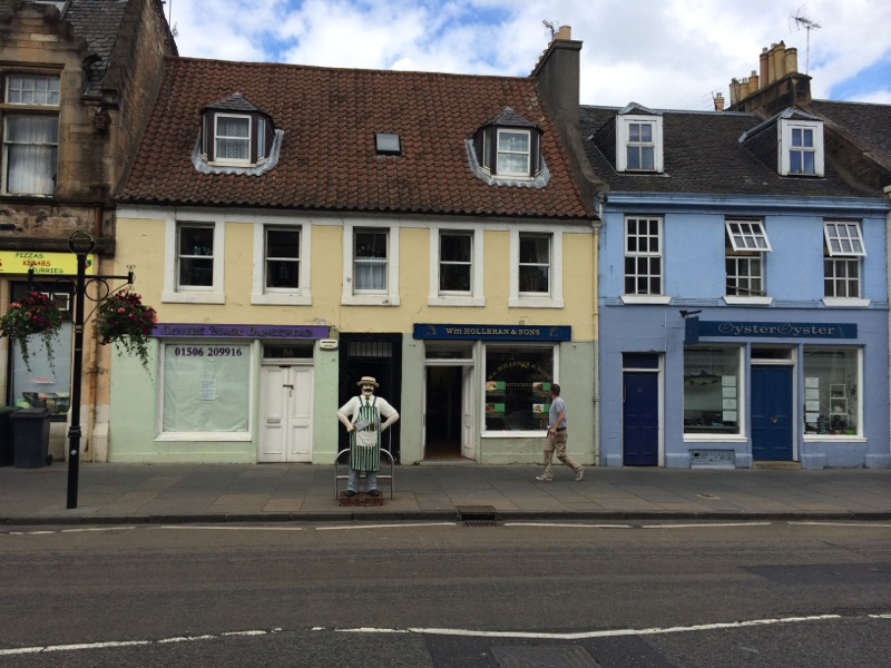 Schottland Kirkgate Ladengeschäft