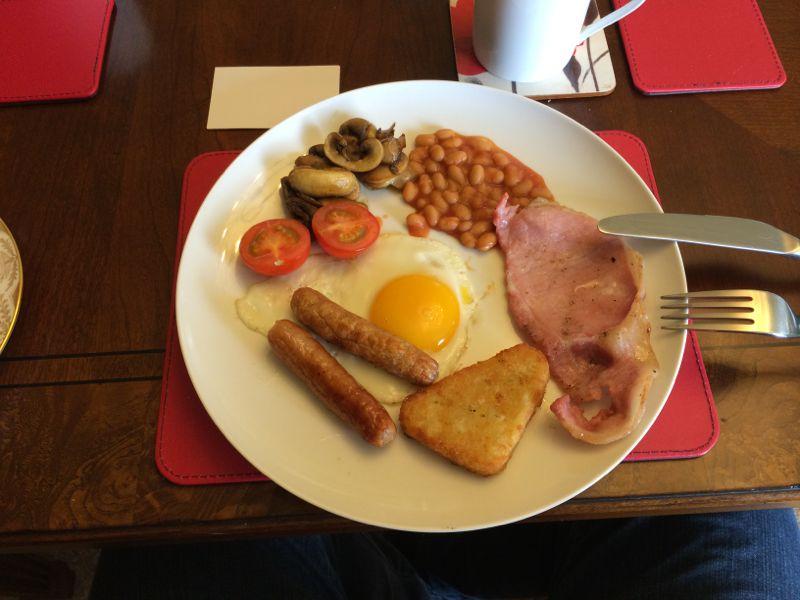 Schottland Frühstück