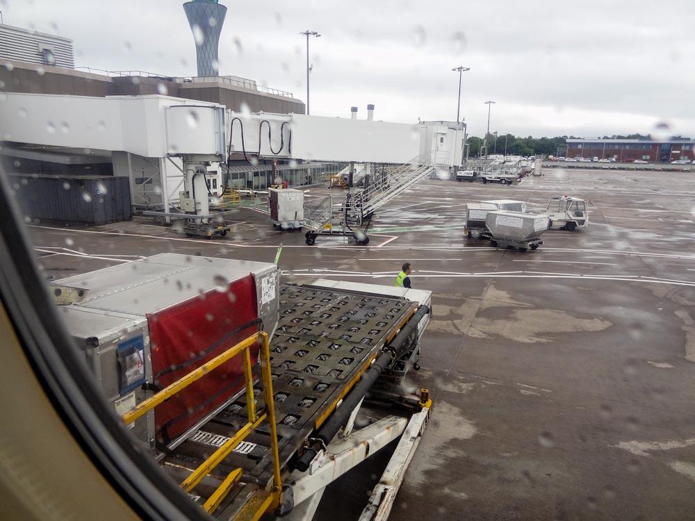 Schottland-Edinburg-Airport