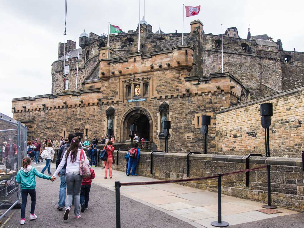 Schottland - Edinburgh Castle