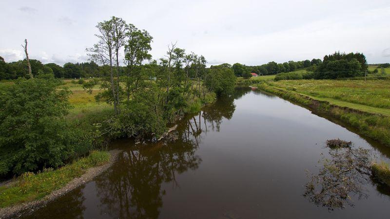Schottland - Flußspiegelung