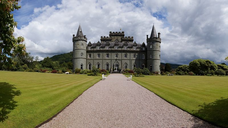 Schottland - Inveraray Castle