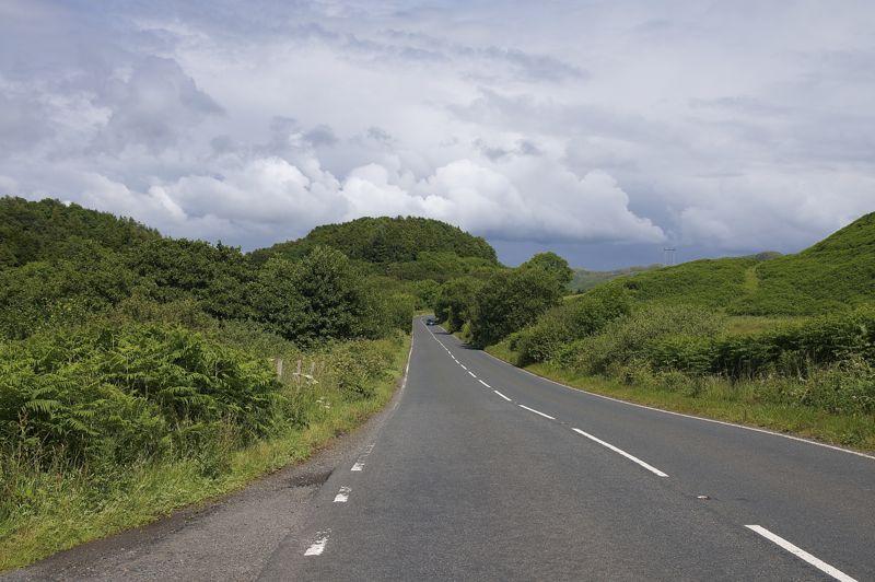 Schottland Landstraße