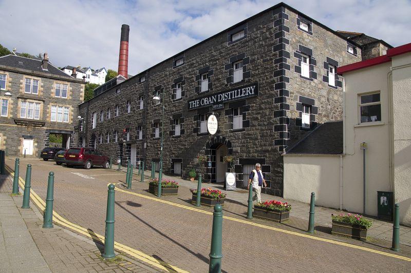 Schottland - Oban - Distillerie