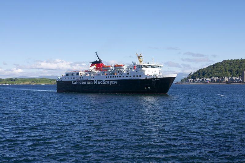 Schottland, Fähre von Oban nach Craignure