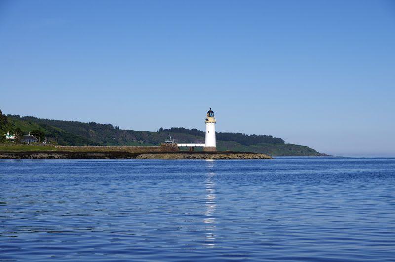 Schottland Tobermory - Isle of Mull - Leuchtturm