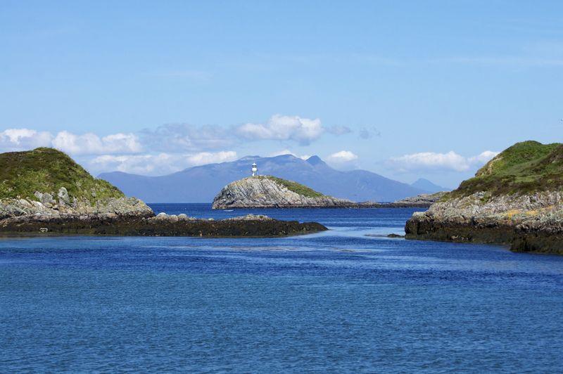 Schottland - Whale Watching - Leuchtturm