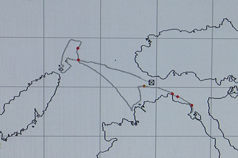 Schottland - Whale Watching - GPS-Plotter
