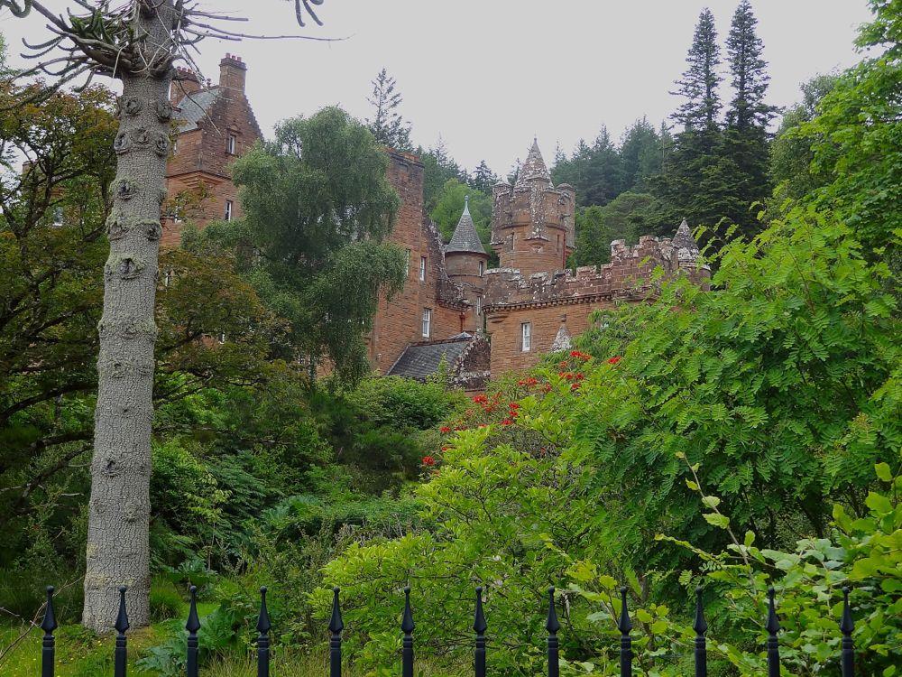 Schottland, Glenborrodale Castle