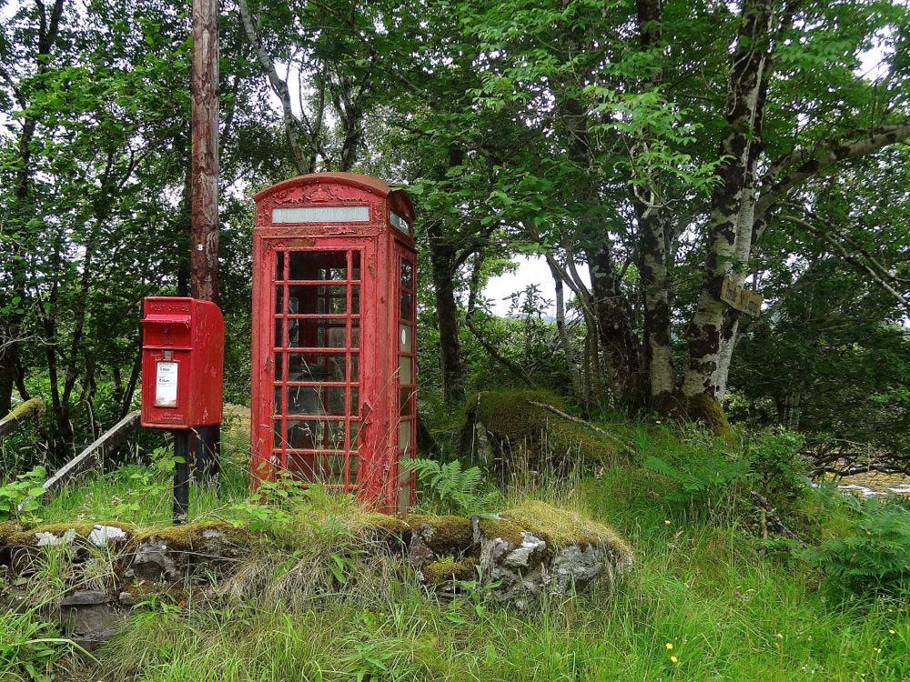 Schottland Telefonzelle