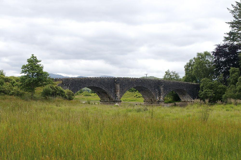 Schottland Steinbrücke