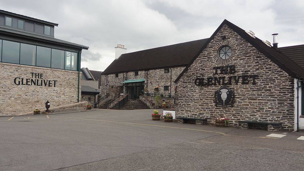 Schottland - The Glenlivet Distillery