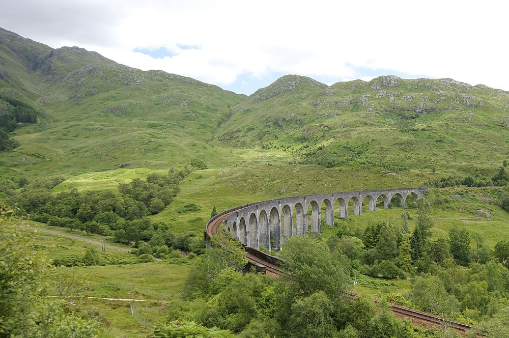 Schottland, Glenfinnan Viadukt