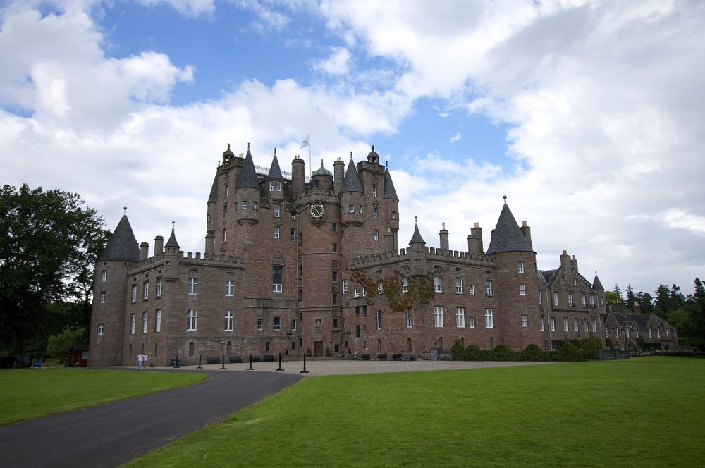 Schottland Glamis Castle