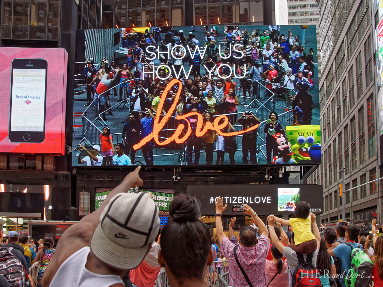 Show us How much You love New York