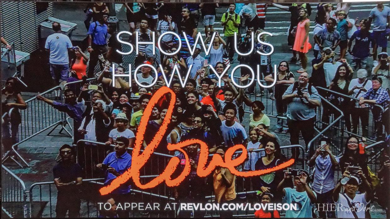 Times Square Reflon Werbung