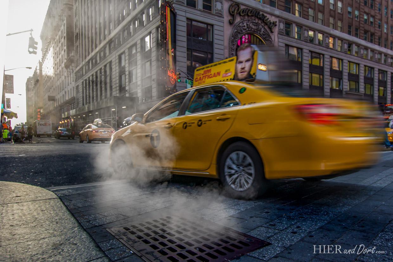 Nicht nur die Yellow Cabs halten diese Stadt lebendig